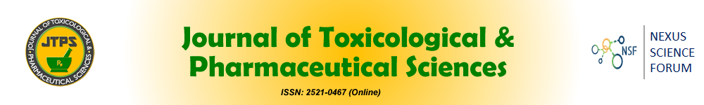 Journal of Toxicological & Pharmaceutical Sciences